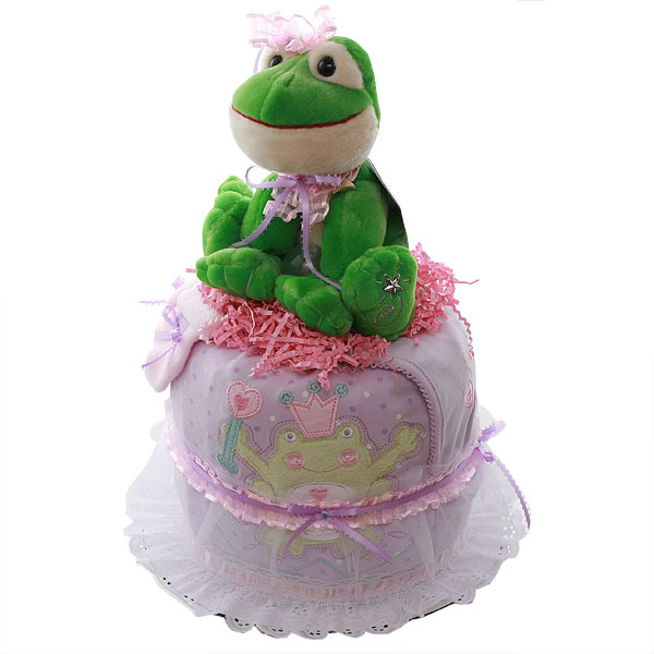 pictures of princess and the frog cakes. Princess Frog Diaper Cake